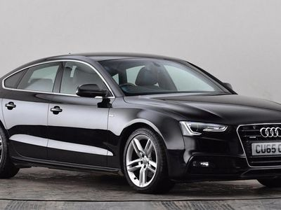used Audi A5 2.0 TDI 190 Quattro S Line 5dr [Nav] [5 Seat] Hatchback 2015