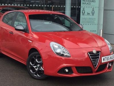 used Alfa Romeo Giulietta Hatchback Special Edition 1.4 TB MultiAir Sprint Speciale 5dr TCT