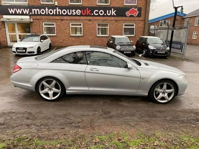 used Mercedes CL500 5.52d 383 BHP SERVICE HISTORY + SUNROOF
