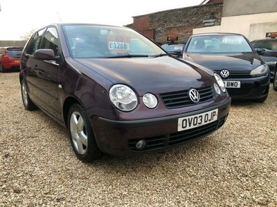 used VW Polo 1.4 FSI Sport 3dr