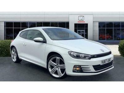 used VW Scirocco 2.0 TDi 184 BlueMotion Tech R-Line 3dr