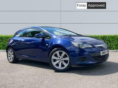 used Vauxhall Astra GTC 1.4T 16V 140 Sport 3dr