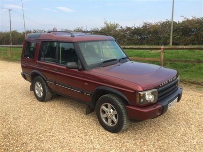 used Land Rover Discovery 2.5 Td5 GS 7 SEATER 5DR FULL SERVICE HISTORY