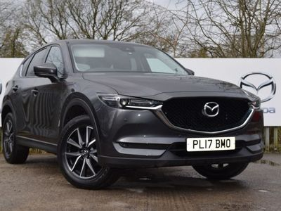 used Mazda CX-5 2.0 Sport Nav 5dr Estate 2017