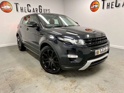 used Land Rover Range Rover evoque 2.2 SD4 DYNAMIC LUX 5d 190 BHP TV+MERIDIAN+HTDLEATHER+AMBIENT