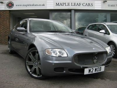 used Maserati Quattroporte 4.2 DuoSelect 4dr Private plate included in Sale