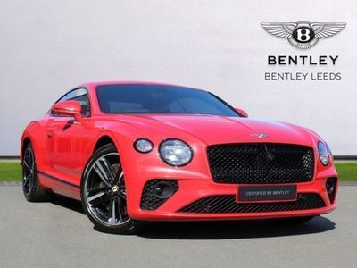 used Bentley Continental GT V8 550 BHP. VAT Q Mulliner Driving Specification, Rotating Display coupe