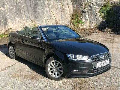 used Audi A3 Cabriolet Cabriolet 2.0 TDI SE S Tronic Auto 6Spd (s/s) 2dr