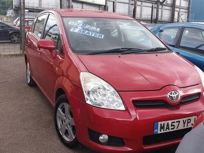 used Toyota Corolla Verso 1.8 VVT-i T3 5dr MMT
