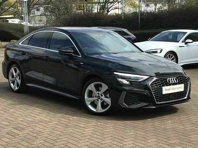 used Audi A3 Saloon S line 30 TDI 116 PS 6-speed