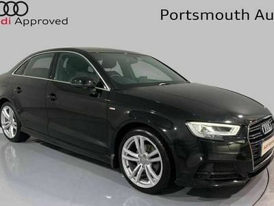 used Audi A3 Saloon S line 35 TFSI 150 PS S tronic