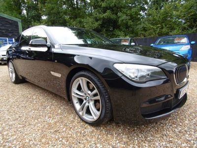 used BMW 430 7 Series 3.0 740d M Sport Exclusive (s/s) 4dr Auto, 2014, Saloon, 00 miles.