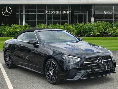used Mercedes E220 E ClassAMG Line Night Ed Premium+ 2dr 9G-Tronic Convertible 2021