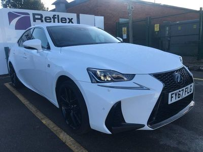 used Lexus IS300 2.5 F Sport E-CVT (s/s) 4dr