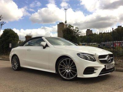 used Mercedes E220 E CLASS DIESEL CABRIOLETAMG Line Premium 2dr 9G-Tronic