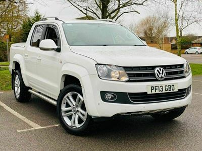 used VW Amarok 2.0 BiTDI Highline Sel Pickup 4MOTION 4dr (3.17t)