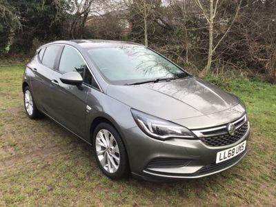 used Vauxhall Astra 1.4T 16V 150 SE 5dr Hatchback 2018