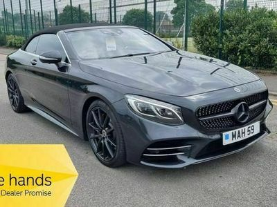 used Mercedes S560 S Class 4.0V8 BiTurbo AMG Line (Premium) Cabriolet G-Tronic (s/s) 2dr