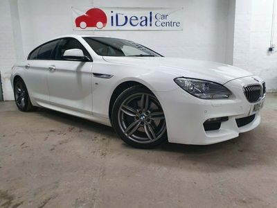 used BMW 640 6 Series 3.0 d M Sport Gran Coupe 4dr Diesel Auto (s/s) (313 ps)