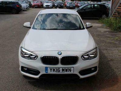used BMW 118 1 SERIES 1.5 i Sport (start/stop) [SAT NAV] hatchback