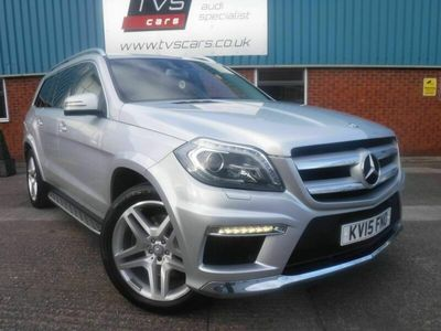 used Mercedes GL350 GL Class 3.0CDI BlueTEC AMG Sport 7G-Tronic Plus 4MATIC (s/s) 5dr