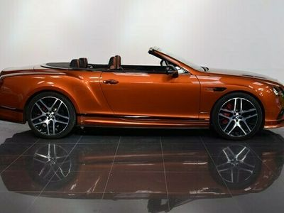 used Bentley Continental GT GTC Convertible Supersports auto 2d