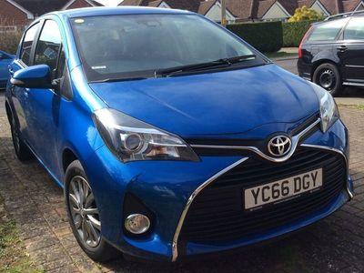 used Toyota Yaris 1.33 Dual VVT-i Icon Multidrive S 5dr (Safety Sense)