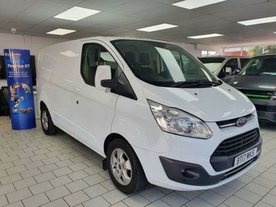 used Ford Custom Transit2.0 310 LIMITED L1H1 SWB 130 SAT NAV - AIR CON - CRUISE, 2017, Van, 58000 miles.