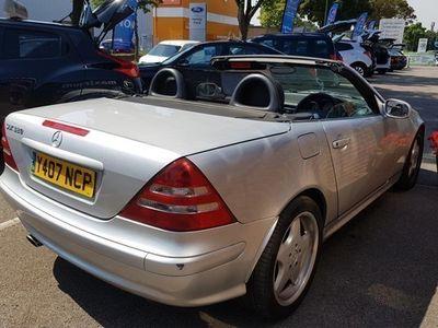 used Mercedes 320 SLK Roadster2d Tip Auto (00)