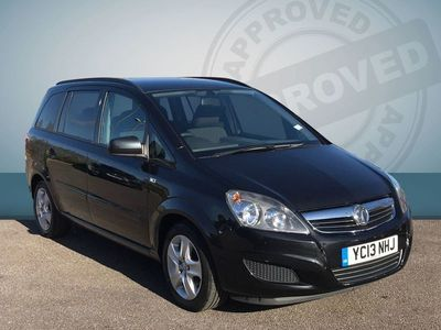 used Vauxhall Zafira 2013 Branksome 1.6 Exclusive Mpv