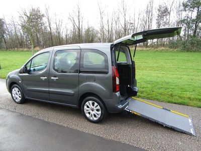 used Citroën Berlingo Multispace 1.6 HDi 90 Plus 5dr WHEELCHAIR ACCESSIBLE ADAPTED VEHICLE WAV