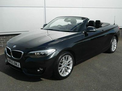 used BMW 218 2 Series 2.0 d SE Convertible 2015
