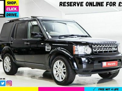 used Land Rover Discovery 4 3.0 SD V6 HSE 5dr