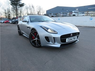 used Jaguar F-Type 5.0 Supercharged V8 R 2dr Auto Coupe 2014