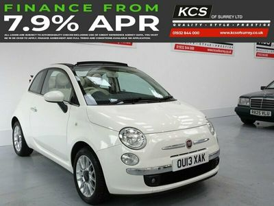 used Fiat 500C 1.2 LOUNGE 3d 69 BHP PARKING SENSOR-CAMBELT CHANGED