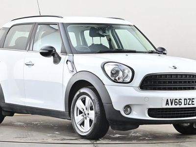 used Mini One Countryman 1.6 5dr [Pepper Pack] White Manual Petrol