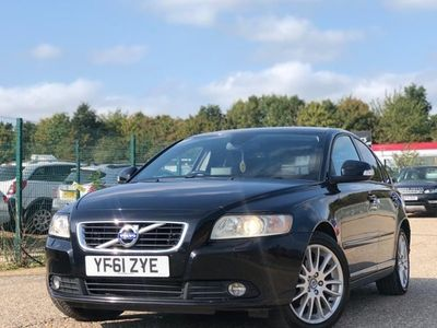 used Volvo S40 Saloon DRIVe (115bhp) SE Lux 4d