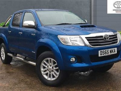used Toyota HiLux Invincible D/Cab Pick Up 3.0 D-4D 4Wd 171 Auto