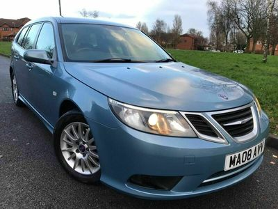 used Saab 9-3 1.9 TiD 150 LINEAR SE TURBO DIESEL ESTATE AUTO 5-Door