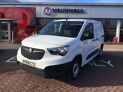 used Vauxhall Combo Cargo 2000 1.6 Turbo D 100Ps H1 Edition Van
