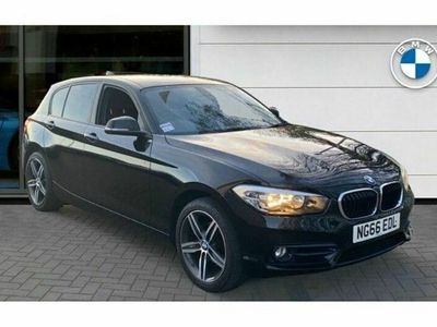 used BMW 118 1 Series d Sport 5dr [Nav], 2017 (66)
