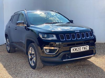 used Jeep Compass 1.4T MultiAirII Limited Auto 4WD (s/s) 5dr