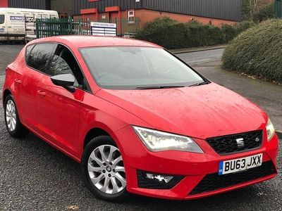 used Seat Leon 2.0 TDI CR CR FR (Tech Pack) (s/s) 5dr