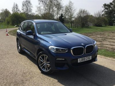 used BMW X3 2018 New Costessey xDrive20d M Sport 5dr Step Auto