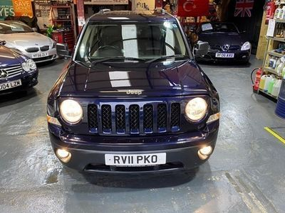 used Jeep Patriot Station Wagon 2.2 CRD Limited 5d