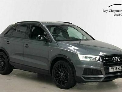 used Audi Q3 1.4T FSI Black Edition 5dr S Tronic