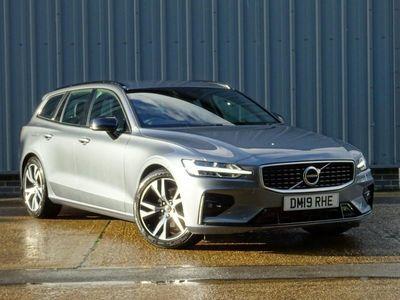 used Volvo V60 2.0 D3 R DESIGN 5dr Auto Estate diesel sportswagon