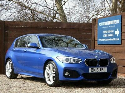 used BMW 120 1 Series 2.0 d M Sport Auto (s/s) 5dr