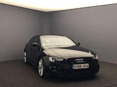 used Audi A5 Sportback 2.0 TDI Black Edition Plus 5dr Diesel S Tronic quattro (147 g/km, 187 bhp)
