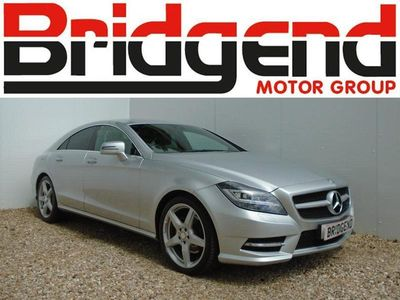 used Mercedes CLS250 2.1 CDI Blueefficiency SP Coupe Silver
